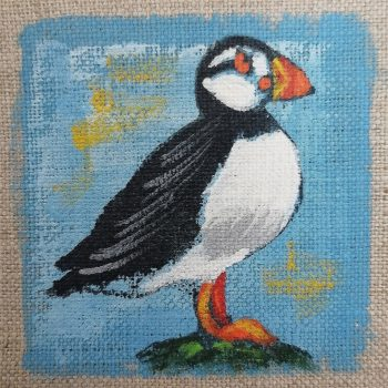 Dasalee Hand Painted puffin