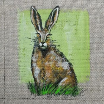 Dasalee Hand Painted hare