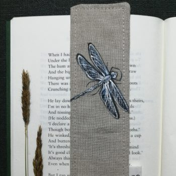 Dasalee Hand Painted dragonfly bookmark