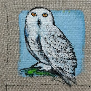 Dasalee Hand Painted Owl