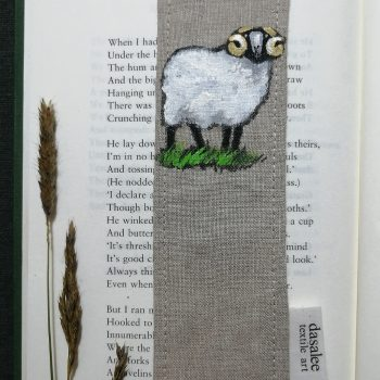 Dasalee Hand Painted ram bookmark